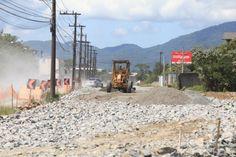 #Secretário de Infraestrutura vistoria obras na avenida Santos Dumont, na zona Norte de Joinville - Notícias do Dia Online: Notícias do Dia…