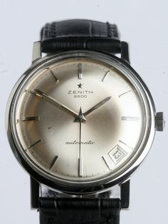Zenith 2600 - Vintage and collector watches on Presentwatch