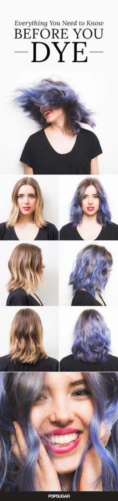 The Truth About Dyeing Your Hair Rainbow Colors - #rainbowcolors #hairtutorial #diyhair #popsugar