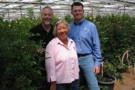 The CA Grown Experience Visits Eufloria Flowers in Nipomo CA...The Prettiest Roses on the Planet!