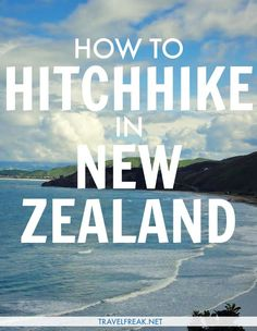 In New Zealand, hitchhiking is a perfectly safe and reliable mode of transportation! When living in Queenstown, I stuck my thumb out almost daily and never had much of an issue. Sometimes you end up in the passenger seat with a slightly crazy person behind the wheel, but there's always a new story to tell. #adventure