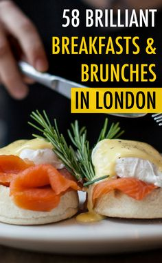 When you want a brilliant breakfast in London, head to one of these dreamy restaurants or cafés, dishing up everything from a full English fry-up to the healthiest alternatives.