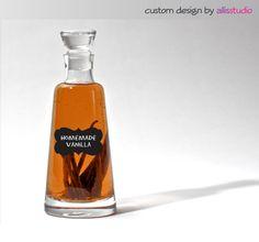 Customized Spice Chalkboard Pantry Jar Labels  by AllisStudio