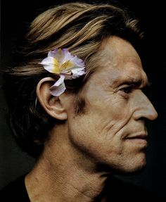 Willem Dafoe by Martin Schoeller His face is so powerfully constructed!