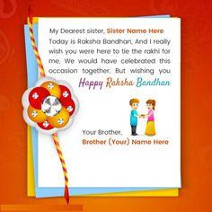 Happy Raksha Bandhan Images for rakhi celebration hot sweet heart touching quotes . May you have a lively and beautiful raksha bandhan ceremony. Raksha Bandhan Photos, Raksha Bandhan Cards, Happy Raksha Bandhan Images, Raksha Bandhan Wishes, Happy Rakshabandhan, Are You Happy, Rakhi Day, Rakhi Images, Rakhi Wishes