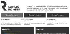 Responsive CSS framework
