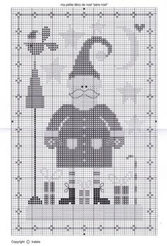 Ma petite déco de Noël 5/5 Cross Stitch Samplers, Cross Stitch Patterns, Xmas Ornaments, Christmas Cross, Christmas Pictures, Happy Holidays, Kids Rugs, Embroidery, Handmade