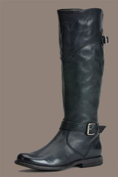 Wide-Calf Boots That Really Fit (& Look So Cool!) #refinery29  Frye 388.00  http://www.refinery29.com/best-fall-wide-calf-boots#slide17