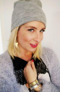 Triangle Earrings. www.puludesign.com