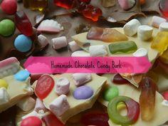 Homemade Chocolate Candy Bark