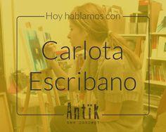 Hoy hablamos con…Carlota Escribano
