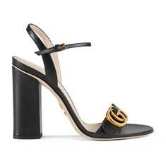 Gucci new Marmont Leather sandal