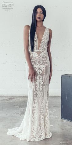 Adam Zohar 2019 Wedding Dresses - #Adam #Dresses #Wedding #Zohar Fit And Flare Wedding Dress, Elegant Wedding Dress, Dream Wedding Dresses, Bridal Dresses, Wedding Gowns, Bridesmaid Dresses, Trendy Wedding, Wedding Attire, Bridal Style