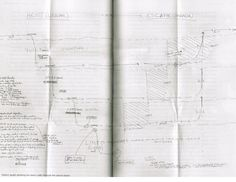 Christopher Nolan's drawing of the Inception structure