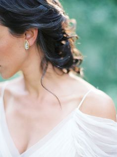 Romantic Bridal Portraits by Kate Ignatowski & Mandy Forlenza Sticos, featuring Saja Wedding Dress HB6285