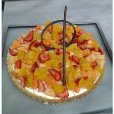 fruit tart Fruit Tart, Hawaiian Pizza, Food, Essen, Meals, Yemek, Eten