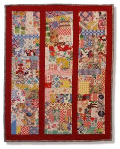Great quilt to make with feedsack scraps