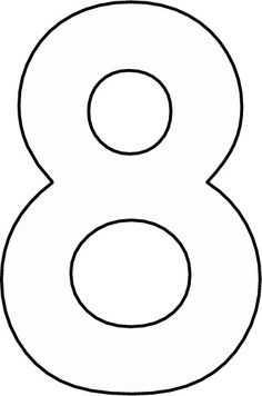 Free Printable Numbers Number Cakes 8 Alphabet Templates Fonts Coloring Pages Colouring Hand Lettering Cut Outs