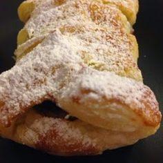 La Zucca Golosa: Treccine di sfoglia con nocciolata #cioccolatarigoni #cucinaveloce