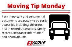 #MovingTipMonday #EZMove