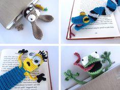 Mesmerizing Crochet an Amigurumi Rabbit Ideas. Lovely Crochet an Amigurumi Rabbit Ideas. Marque-pages Au Crochet, Chat Crochet, Tunisian Crochet Stitches, Crochet Birds, Crochet Cross, Double Crochet, Tassel Bookmark, Beaded Bookmarks, Crochet Bookmarks