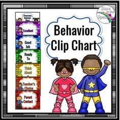 Promote positive behavior choices with this classroom management behavior clip…