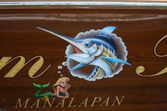 #TRANSOM: Dream Time, Manalapan #Boat #Transom #BoatTransom  TRANSOM #TECHNIQUE: #GoldLeaf #CustomGraphics    #BOAT #BUILDER #BoatBuilder: #BaylissBoatworks, #NorthCarolina