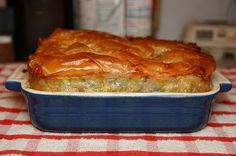 Spinach & Feta Pie (Spanakopita) #recipe
