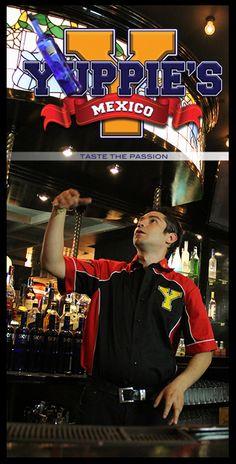 "Te estamos esperando!    Yuppie's ""Taste the Passion""   México City"