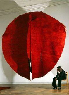 Magdalena Abakanowicz Abakan Red, 1969