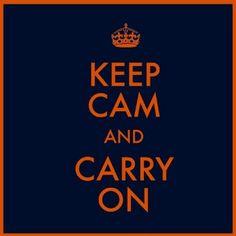 Keep Cam? I wish! I miss him already.