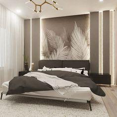 Modern Luxury Bedroom, Luxury Bedroom Design, Room Design Bedroom, Home Room Design, Contemporary Bedroom, Luxurious Bedrooms, Home Interior Design, Bedroom Decor, Bedroom False Ceiling Design