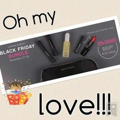 This a Black Friday bundle runs out at midnight! $89 for $132 worth of AMAZING products! Don't miss out!