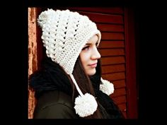 Congratulations to Viktoria Gogolak at CrocheTrend! The Ella Hat pattern has been voted the Best Earflap Hat Design 2015 in The Crochet Awards! See all the Winners on our Ravelry page. Bonnet Crochet, Crochet Beanie, Crochet Yarn, Knitted Hats, Crochet Video, Love Crochet, Double Crochet, Single Crochet, Crochet Crafts