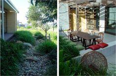 Dry creek bed garden Adelaide Garden Design