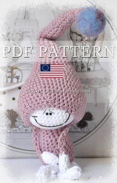 LUCKY DOLL crochet amigurumi little inspiring by lescreasdeclo