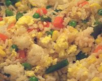 Untagged Seeds: Dinner (Now!): Vegetarian Fried Rice