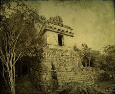 Hochob Campeche Mexico - Mayan ruins