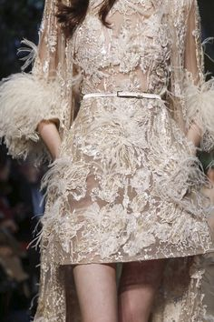 Close ups at Elie Saab Haute Couture Spring/Summer 2015
