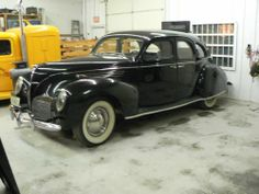 '38 Lincoln Zephyr