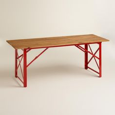 Red Beer Garden Dining Table | World Market
