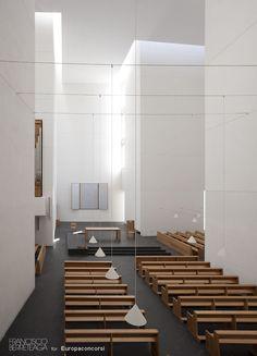 Rafael Moneo, Iglesia de Iesu, San Sebastian, Spain