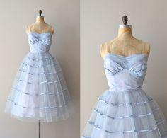 1950s party dress / 50s dress /  Lazy Cloud Pace dress. $445.00, via Etsy.