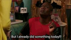 """Trying to motivate yourself to leave the house. 