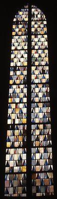Hupert Spierling (1954) Bochum, Kath. Kirche St. Antonius. Fenster im Chor