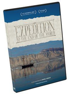 Expedition to the End of The World @ Daltonshop.be  // Pre-order now //  'Expedition to the End of the World' is een film die drijft op nieuwsgierigheid, grote gevoelens, schitterende landschappen en een bevrijdende dosis humor en die zeker stof levert tot discussie.