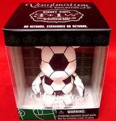 Vinylmation Rare Mickey Mouse Soccer Ball Figure