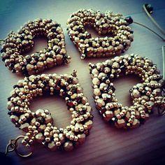 Beaded heart shaped pendants #jaumanna #Beaded #beading #beads #embroidery #colorful #hippie #boho #bohemian #buy #forsale #fashion #shopping #tutorials #tutorial #creative #craft #design #designer #bracelet #bracelets #pendant #pendants #earrings #bookmark #bookmarks #brooch #brooches