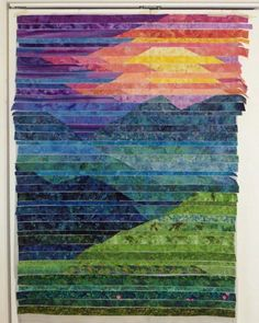 I thought I'd post a few pictures I took along the way making Blue Ridge Mtn. (… I thought I'd post a few pictures I took along the way making Blue Ridge Mtn. (This is the quilt they chose to be the cover of my book! Patchwork Quilting, Batik Quilts, Jellyroll Quilts, Scrappy Quilts, Art Quilting, Fiber Art Quilts, Rag Quilt, Mini Quilts, Applique Quilts