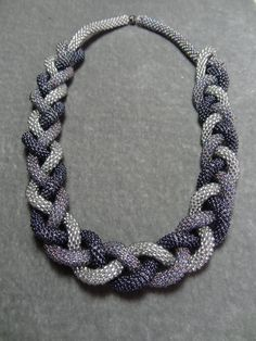 Lovely knotted necklace